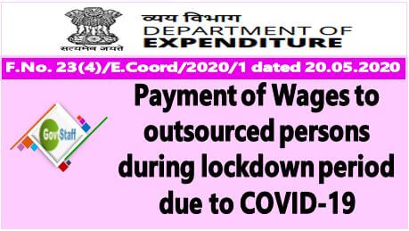 Railways: Payment to contract and outsourced staff during the period of suspension of passenger services on IR