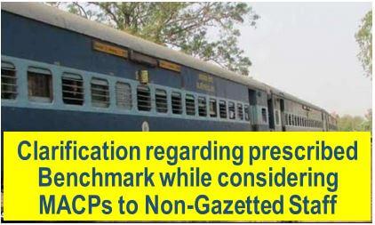 7th CPC MACP: Clarification regarding prescribed Benchmark while considering