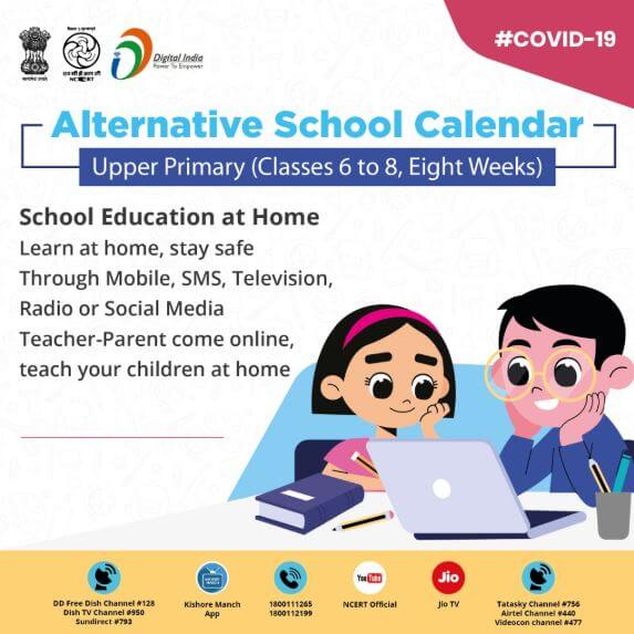 Eight Week Alternative Academic Calendar for Upper Primary Stage (Classes IV to VIII)