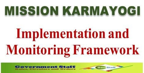 Mission Karmayogi: Institutional Framework for Implementation and Monitoring of the programme