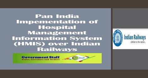 Pan India Impementation of Hospital Management Information System (HMIS) over Indian Railways