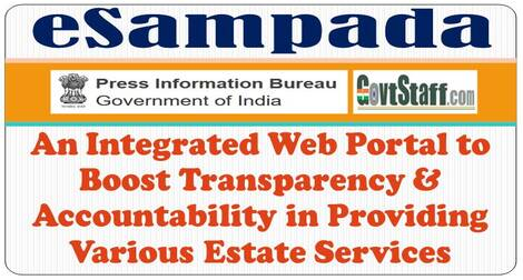 eSampada: An Integrated Web Portal to Boost Transparency & Accountability in Providing Various Estate Services