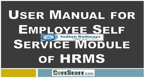 User Manual for Employee Self Service Module of HRMS