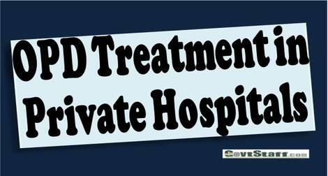 OPD Treatment in private empanelled hospitals regarding – RSCWS writes to Director General, Railway Health Services