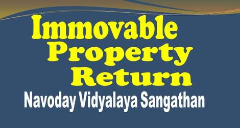 NVS: Submission of online Annual Immovable Property Return for the year ending 2020