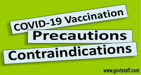 Precautions and Contraindications for COVID-19 Vaccination – Different COVID-19 Vaccine – Comparative Sheet