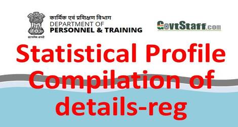 Provide Statistical information by 31st January 2021: DoP&T OM dated 4th January 2021