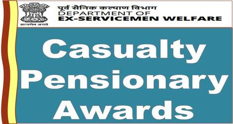 Revision of Casualty Pensionary awards in respect of pre-1996 and pre-2006 Medical Officers of Armed Forces