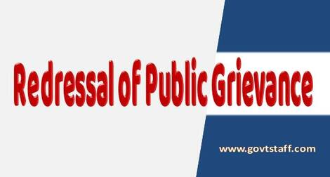 Redressal of Public Grievances – CGDA order dated 22.02.2021