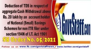 deduction-of-tds-in-respect-of-aggregate-cash-withdrawal-above-rs-20-lakh-by-an-account-holder-of-national-small-savings-schemes-for-non-itr-filer