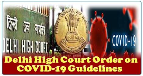 Delhi High Court Order on COVID-19 Guidelines
