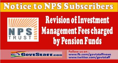 National Pension System: Revision of Investment Management Fees charged by Pension Funds