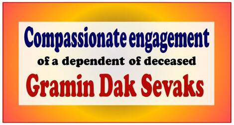 Compassionate Engagement : Finalization of the compassionate engagement within 2 months of the death