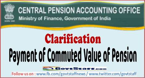 Payment of Commuted Value of Pension – Clarification by CPAO