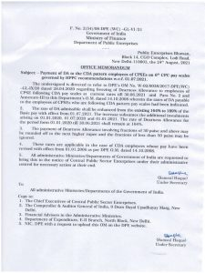 dearness-allowance-189-wef-01-07-2021-to-the-cda-pattern-employees-of-cpses-on-6th-cpc-pay-scales