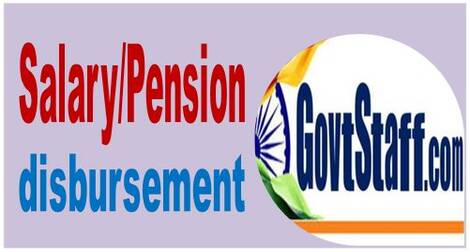 Disbursement of Salary/Pension for August 2021 to CG Employees/Pensioners posted in Kerala and Maharashtra on account of ONAM and GANPATI festival