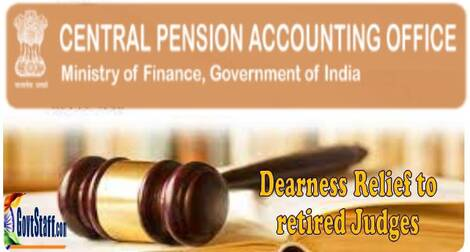 Revised rates of Dearness Relief to the retired Judges of Supreme Court/High Courts and Family Pensioners – CPAO O.M. dated 02.09.2021