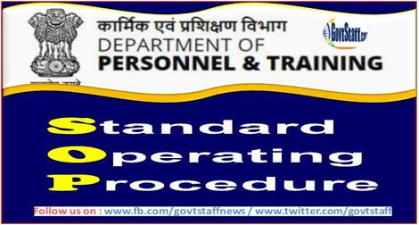 SOP on processing of cases under section 17A of the Prevention of Corruption Act, 1988