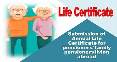 Submission of Annual Life Certificate: Railway Board RBA No. 54/2021